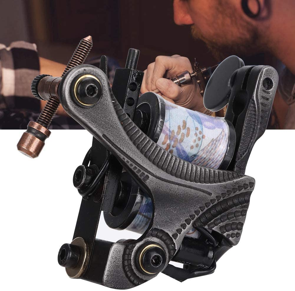 máquina de tatuar de bobinas man