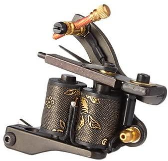 maquina de tatuar de linea hecha a mano_