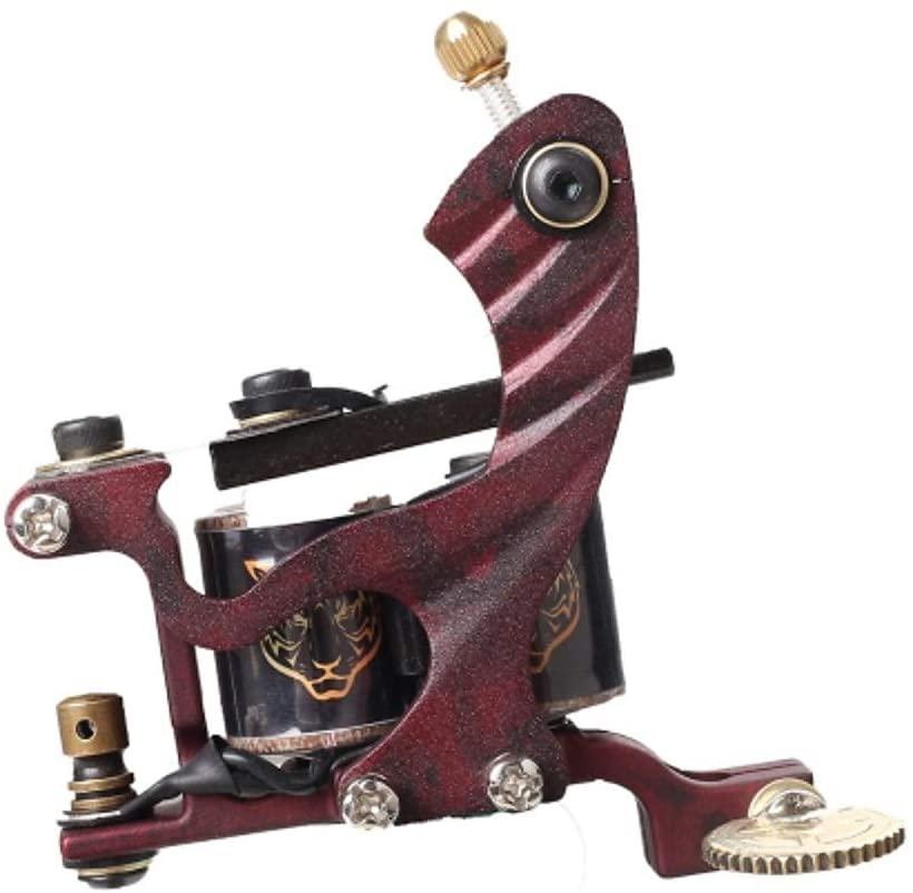 maquina de tatuar madera_