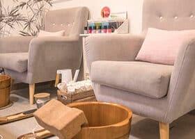 mobiliario centro de estetica