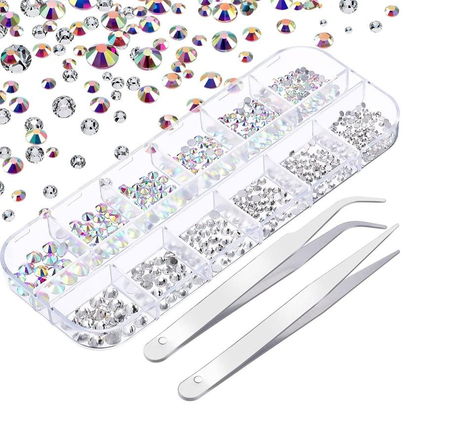 Diamantes de Imitación de Uñas