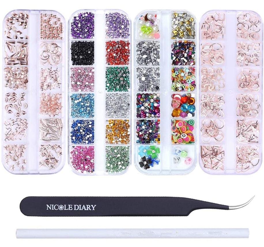 Kit de decoración de uñas