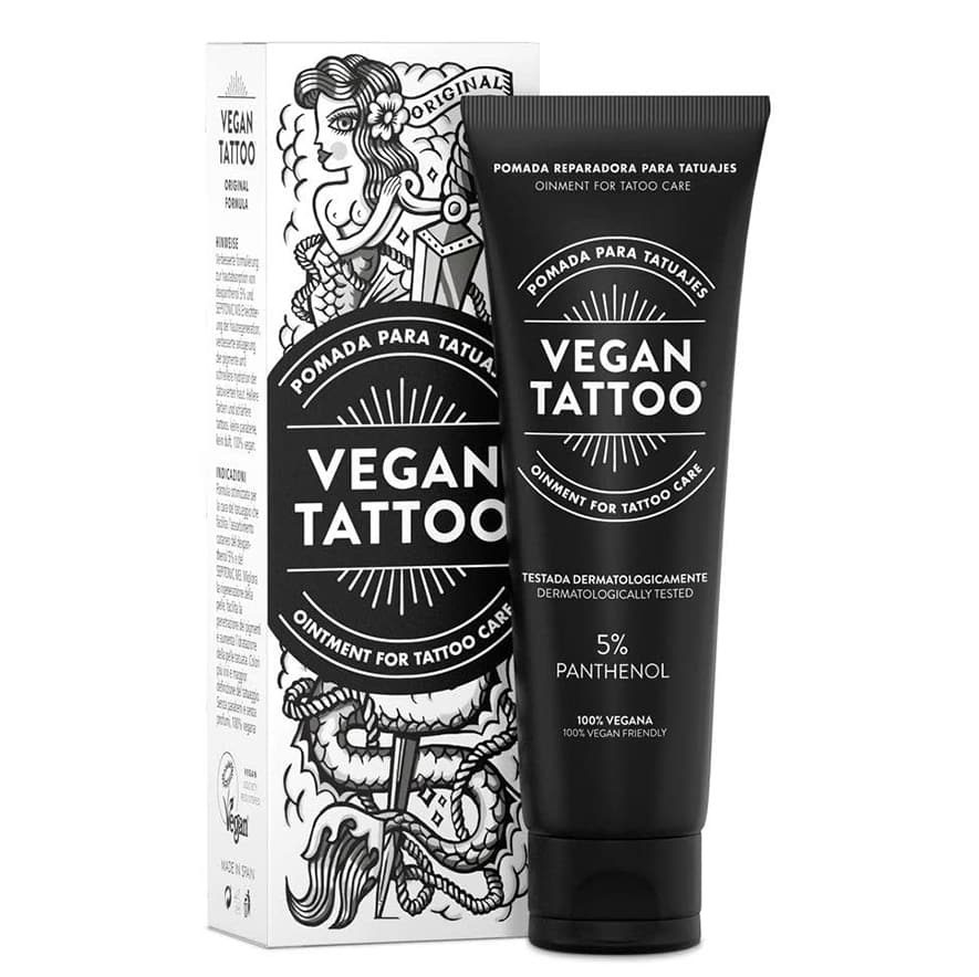 Crema Vegan Tattoo 5% de PHANTENOL