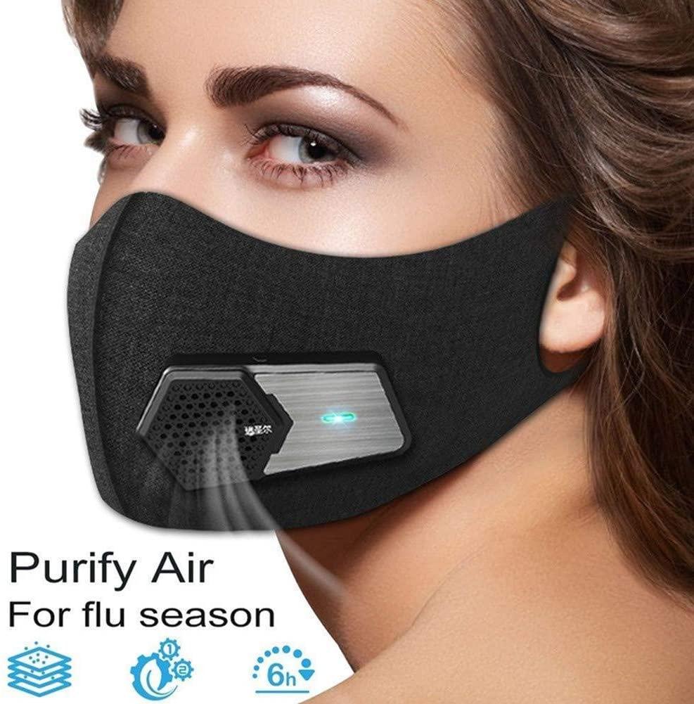 Mascarilla con respirador por filtro