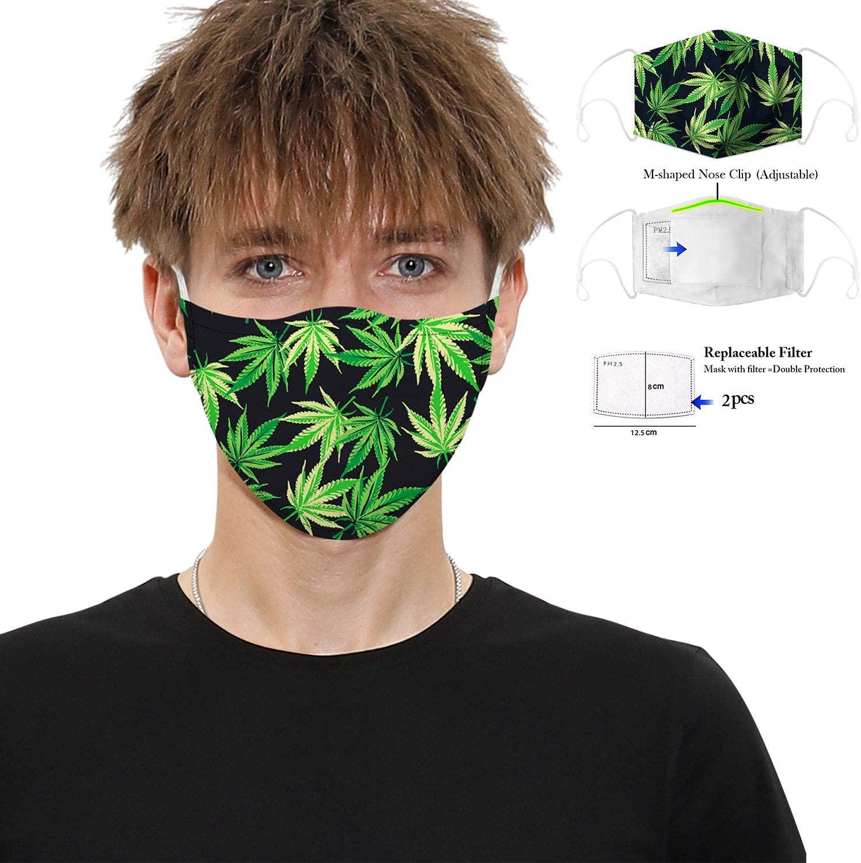 Mascarilla de diseño Cannabis