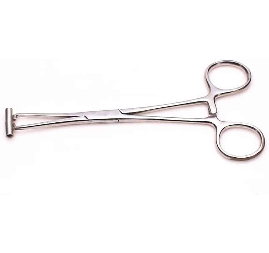 Pinzas de punción del clavo Piercing corporal Herramienta