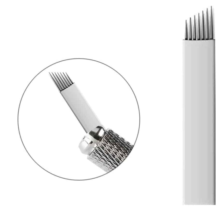 Agujas 7 pin Microblading